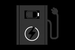 EV Charger ICON - Black
