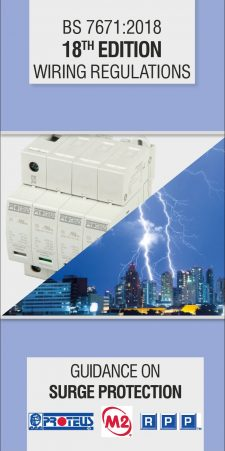 MP 467 Surge Protection Trifold Brochure